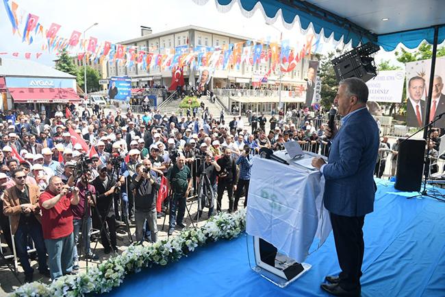 Bakan Arslan, 42 Milyon TL tutarındaki 6 tesisin temelini attı