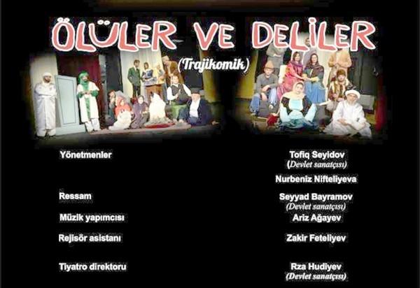 Celil Mehmedguluzade'nin eseri 'Ölüler ve Deliler Kars'ta sahnelenecek