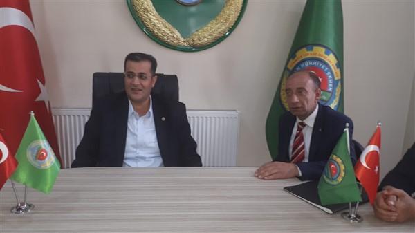 """Ertaş, Doğu Anadolu Bölgesi çiftçisinin sorunlarını Ankara'ya taşıyacak"""""""
