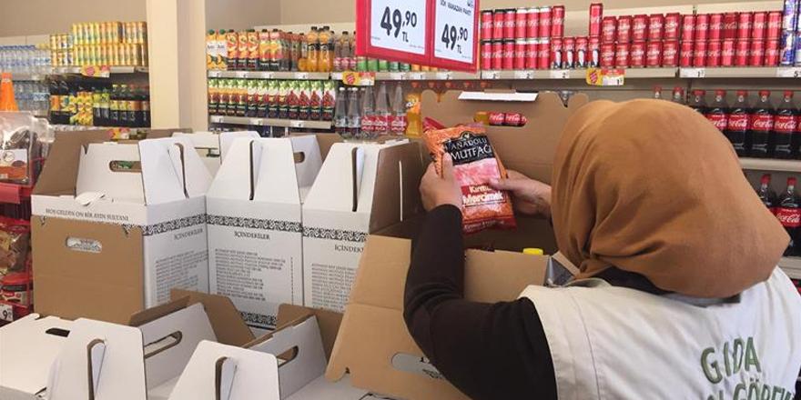 Kars'ta Bayram öncesi gıda denetimleri devam ediyor