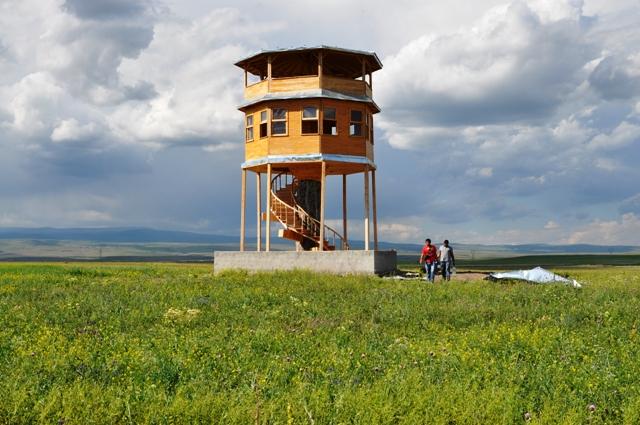 Kuyucuk Gölü'ndeki kuş gözlem kulesi onarılacak