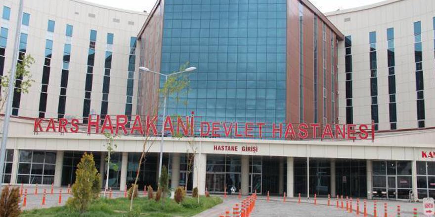 Kars Harakani Devlet Hastanesinde tıbbi malzeme hırsızlığı!