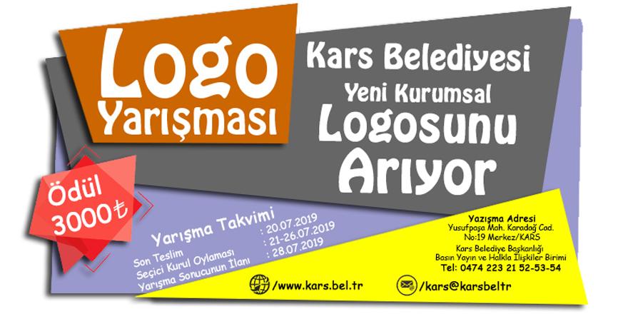 Kars Belediyesi'nin logosu değişiyor!