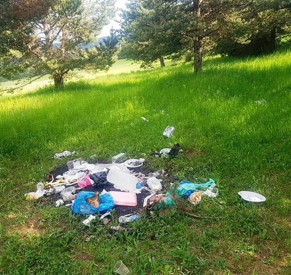 Sarıkamışlılar, piknikçileri duyarlılığa davet etti