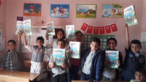 Çocuklar için sağlık çocuk dergisi