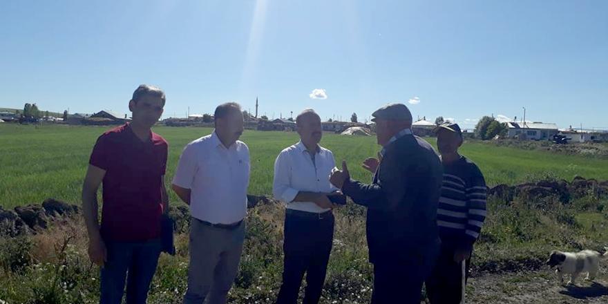 Kars'ta arazi ekiliş kontrolleri devam ediyor