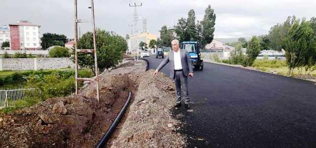 Arpaçay'ın su hattına eski Başkan engel olmuş!