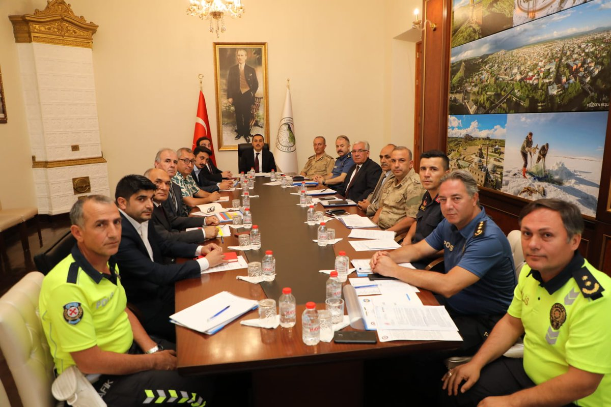 """""""Trafik Güvenlik Toplantısı"""" yapıldı"""