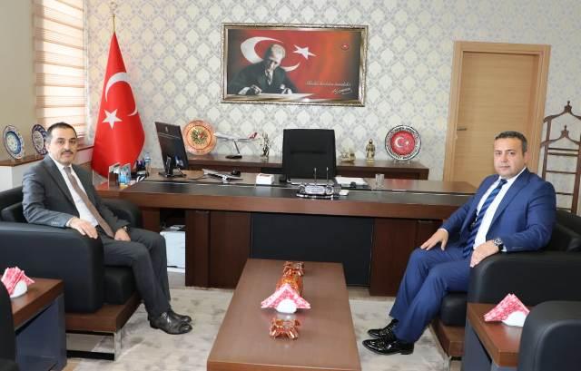 Vali Türker Öksüz'den, Başsavcı Soner Aygün'e ziyaret