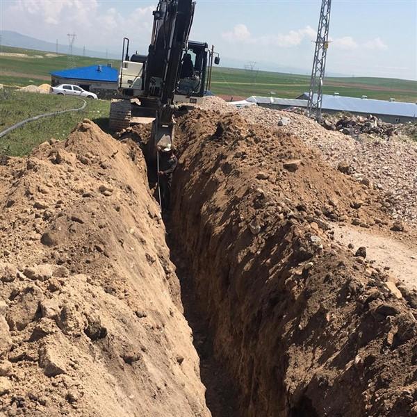 İl Özel İdare, Boğazköy'e su deposu yapıyor