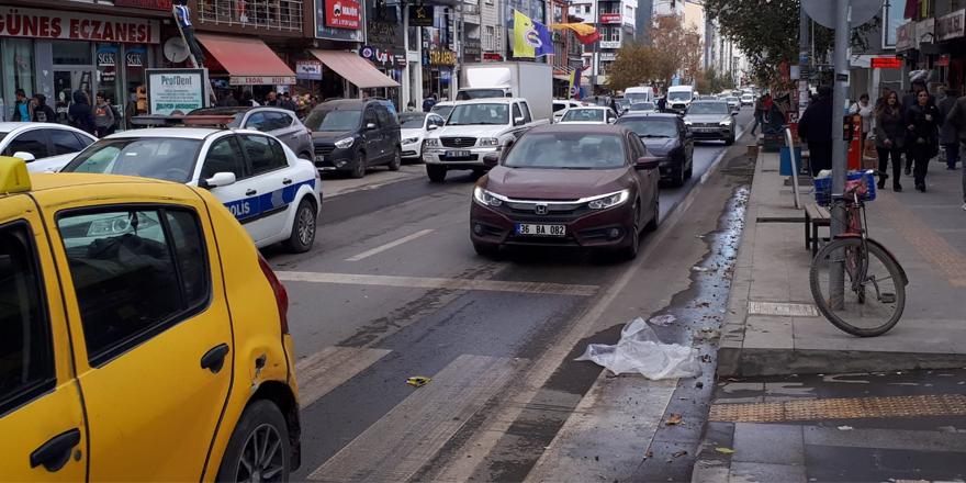 Kars'ta araç sayısı 45 bin 737 oldu