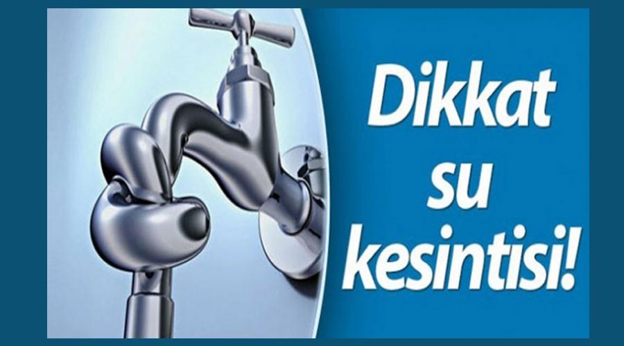 Kars'ta, 3 gün su kesintisi yapılacak