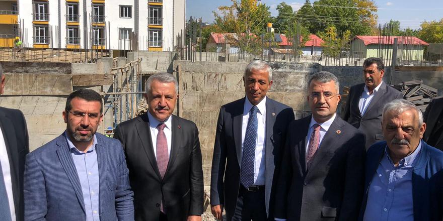Kağızman'da aile sağlık merkezi inşaatı başladı