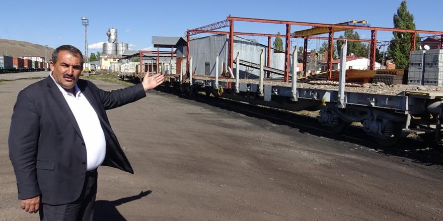 Kars'a yük vagonu verilmemesi tartışmalara neden oldu