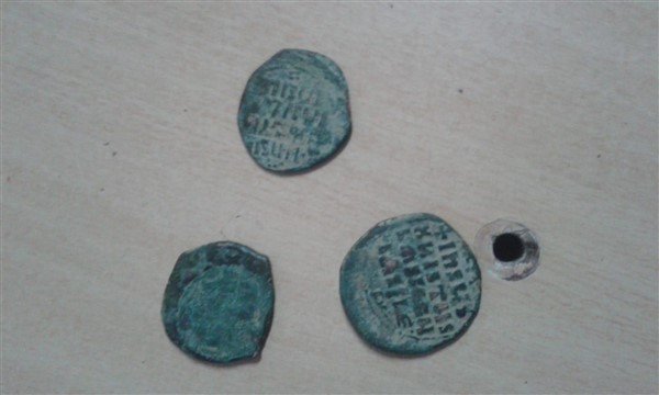 Kağızman'da Bizans dönemine ait sikke bulundu