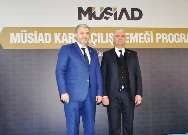 """Aydın, """"MÜSİAD, Kars'a yatırımcı çekecek"""""""