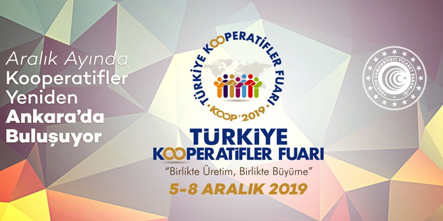 Türk kooperatif ürünleri tanıtılacak