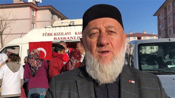 Türk Kızılayı Kars Şubesi ihtiyaç sahibi ailelere kavurma dağıttı