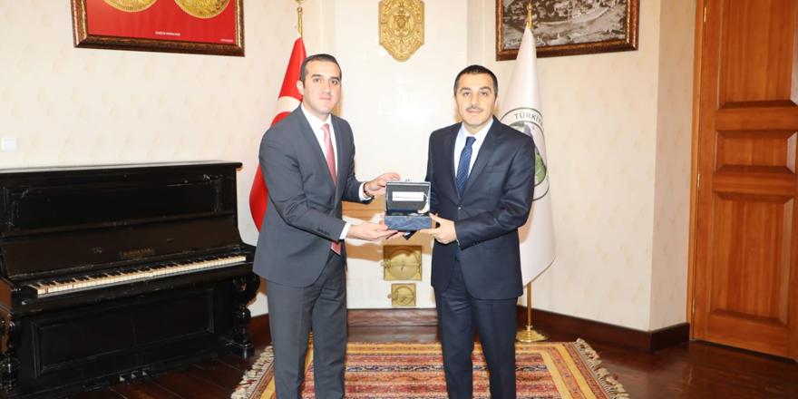 KOSGEB Kars Müdürlüğü'nden Vali Türker Öksüz'e ziyaret