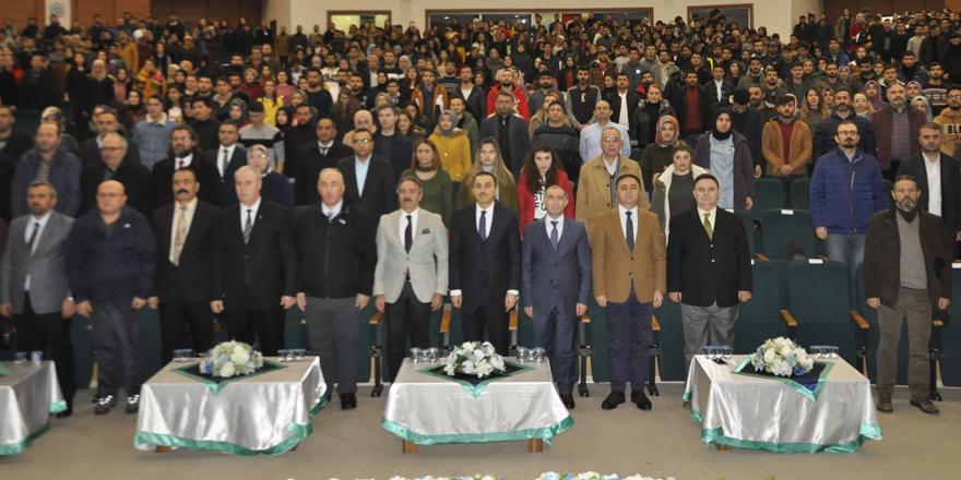 """Kars'ta """"2019 Prof.Dr. Fuat Sezgin Yılı"""" etkinliği düzenlendi"""