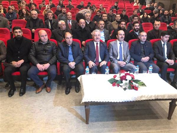 """Dolunay Derneğinden Ahmet Arslan'a """"Engelli Dostu"""" ödülü"""