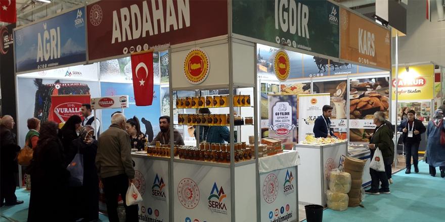 SERKA, Helal Expo Fuarı'nda bölge ürünlerini tanıttı