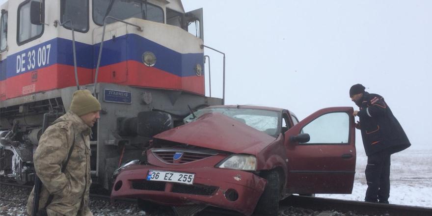 Kars'ta tren kazası: 3 ölü!