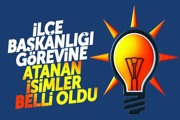 AK Parti Kağızman, Sarıkamış ve Susuz İlçe Başkanlıklarına atama yapıldı