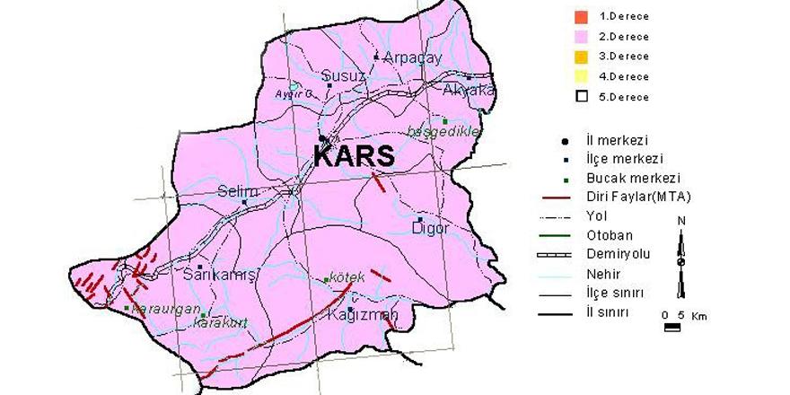 Kars'ın deprem bilançosu!