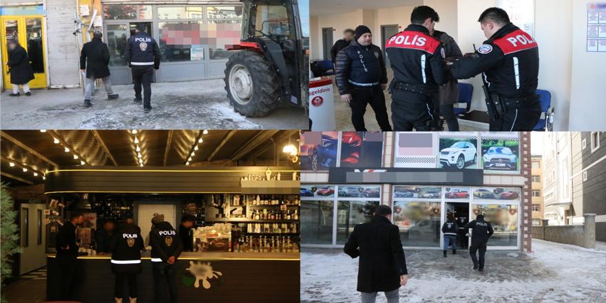 """Kars'ta, """"Türkiye Güven Huzur Uygulaması (2020-1)"""" yapıldı"""