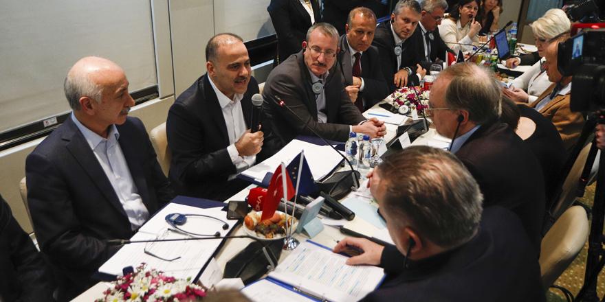 Turistik Doğu Ekspresinde 'AB - Türkiye İşbirliği' temalı toplantı