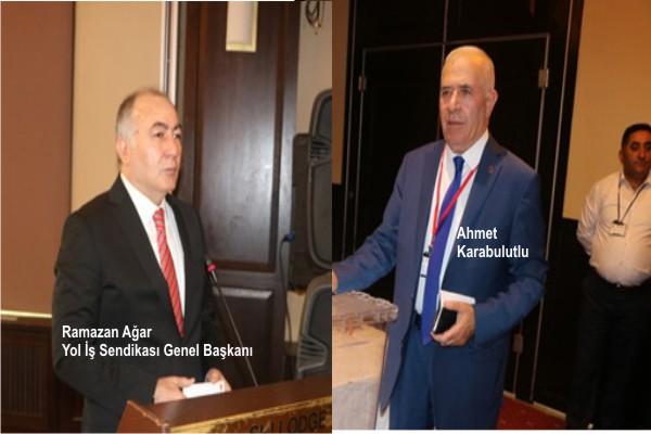 Ahmet Karabulutlu, Yol İş Sendikası 2 nolu Şube Başkanlığına seçildi