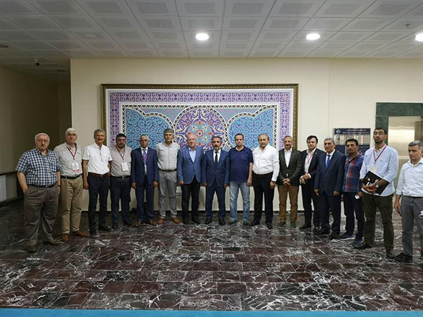 Gazeteciler Cemiyeti Başkanları Ardahan'da