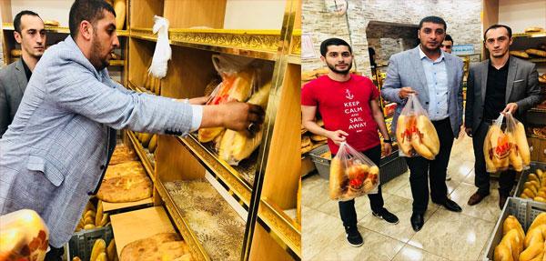 Ülkü Ocaklarından Askıda Ekmek Projesi