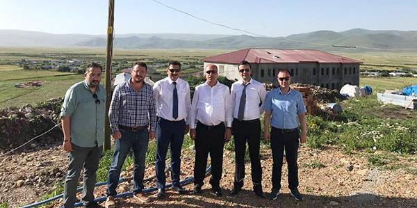 DSİ heyeti Ardahan 243. şubenin tesislerini inceledi