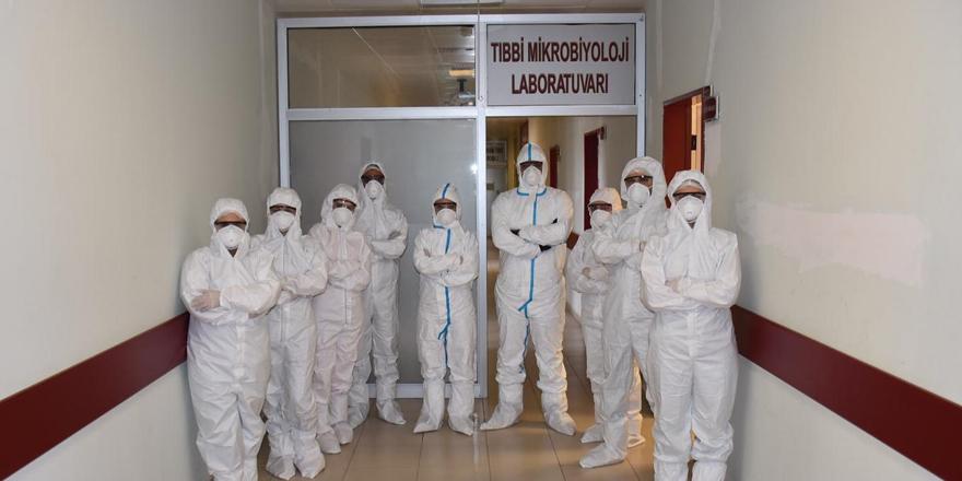 Kovit-19 testi KAÜ'de başladı