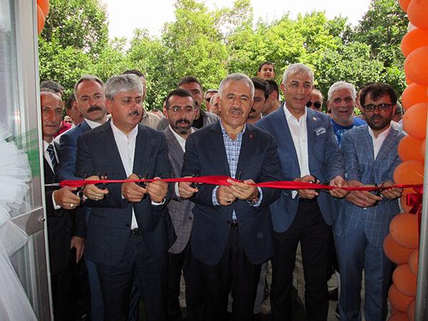 Özabay Halı Saha Tesisleri açıldı