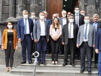 CHP Heyeti, dolmuş sorunun çözülmesini istedi