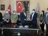 Sağlık Sen'den Başkan Altay'a ziyaret