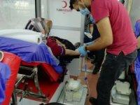 Sağlık-Sen Kars Şubesinden Türk Kızılay'ına kan bağışı