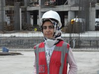 Kars'ta 55 Milyonluk projenin tek kadın mühendisi!