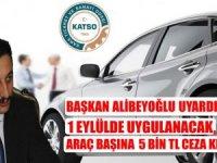 Başkan Alibeyoğlu uyardı: