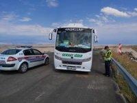 Jandarma 27 araca ceza kesti
