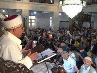 Kars'ta resmi bayramlaşma töreni gerçekleştirildi