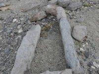 Arpaçay'da sular çekilincesaklı tarih ortaya çıktı