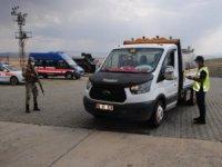 Kars'ta 2 bin 360 araç denetlendi