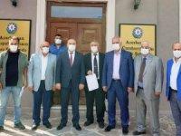 Sivil toplum kuruluşu ve vatandaşlardan Azerbaycan'a destek