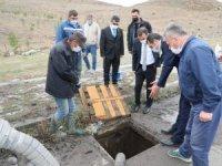 Vali Öksüz, belediye çalışmalarını yerinde inceledi