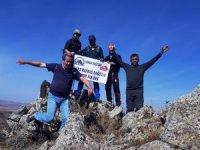Karslı dağcılar bir ilki hayata geçirdi