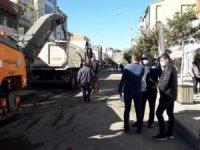 Belediye Kazımpaşa Caddesi'nin asfaltına başladı